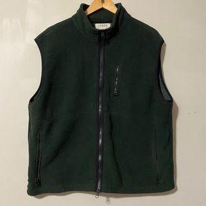 J Crew Fleece Vest Jacket sizeXL